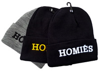 3 Colors New Arrivel High Quality Homies Beanie Snapback Hats Football Skullies Wool Winter Warm Knitted Caps For Man Women
