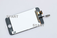 For Touch4 LCD Display+Touch Screen Digitizer Panel +Holder Assembly, Black and White Color