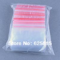 Hot New 100x 10x25cm Jewelry Ziplock Zip Zipped Lock Reclosable Plastic Poly Clear Bags 60-368