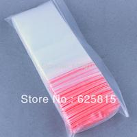Hot New 100x 15x38cm Jewelry Ziplock Zip Zipped Lock Reclosable Plastic Poly Clear Bags 60-377