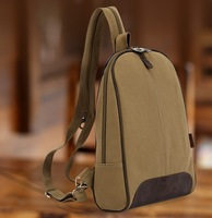 Women's backpack canvas bag small fresh multifunctional vintage casual travel backpack