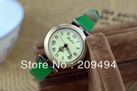 2013 Newest Arrival Woman  Wristwatch Leather Band Quartz  Watch High Quality Elegance Watch Free Shipping