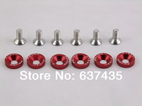 HS-AW001 Freeshipping Password:JDM 8mm Aluminum Washers Ruckus / Zoomer (6 Pack) for car