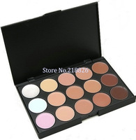 Free Shipping Drop shipping New Professional 15 Colors Makeup Face Concealer Camouflage Neutral Palette