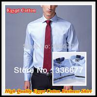 Free Shipping Mens High Quality Elegant Egypt Cotton Business Shirt QR-4763