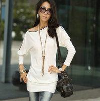 5 Color Winter Dress New 2014 Fashion Slim Long Sleeve Mini  Sexy Casual Dress Women Dress vestidos J35