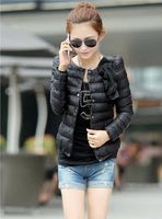slim design  women's short wadded jacket outerwear female thickening down cotton-padded jacket 4colors,sizeXXL , free shipping