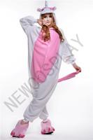 Free shipping Pink Pig Hot Selling Animal Onesies Kigurumi Jumpsuit Pajamas Anime Hoodies Costume Sleepwear