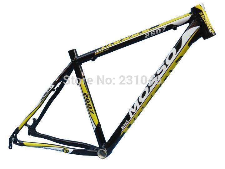 "MOSSO 2607 MTB Frame 7005 Ultra-light Alloy Mountain Bike Frame 26* 16"" 17"" 18"" 19"" Free Shipping(China (Mainland))"