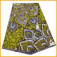2013 Latest design veritable super wax african desige real prints fabrics on sale for garment MT1115