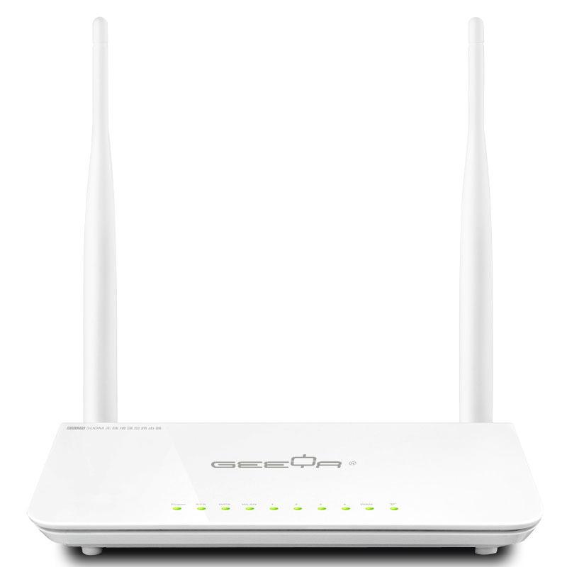 Anglais logiciels geeya r306 n300 routeur sans fil à domicile, 300 2mbps, répéteur wifi/ap, livraison gratuite