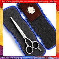 Professional Hair Scissors Flat Blade Cutting Scissor Hot Sale Smith Chu 5.5 Inch JP440C
