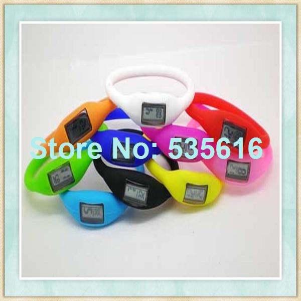 New fashion negative ion silicone watch(China (Mainland))
