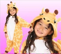 2013 Fashion kid pajamas Anime  Penjuin Cute Unisex One Piece pajama Flannel pajama for Christmas gift