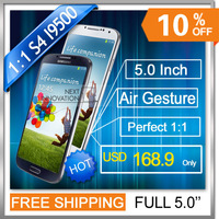 Drop shipping S4 phone I9500 phone eye control QUAD CORE 12.6mp smart pause camera 5 inch airgesture eye control