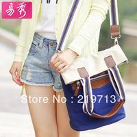 Eshow Canvas Shoulder Bags For Women Travel Handbags Casual Messenger Bag Free Shipping