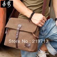 2014 Men Messenger Bags Travel Vintage Bag Casual School Bag For Student Canvas Shoulder Bags