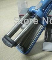 Blue Hot mini plate waver Ceramic Hair Iron Universal 110-240V Drop shipping