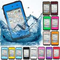 Waterproof Dirtproof Shockproof Snowproof Protection Case Cover for Apple Iphone 4 4s