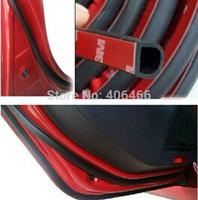 4m/ piece Auto Seal Strip Trim Rubber D style Universal Sealing trim Airtight 4 Meter Car Door Seal strip Styling