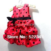 Baby girls tutu dresses children dot  princess dress children Pretty Dress Kids jumper dress sundress