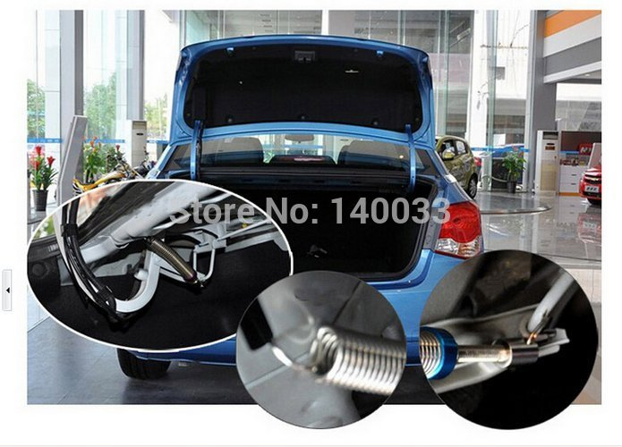 Free Shipping 2PCS/ Pair Fashion Adjustable Automatic Car Trunk Lid Lifting Gas Spring Device 21118(China (Mainland))