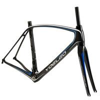 2014 YOELEO 88 Carbon Frame 3K Matt Size: 47/50/53/56/59CM Road Bike Frame +Fork+Headset+Rear Derailleur+Spacers+Screw