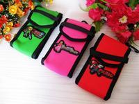 2013 women bag new Korean candy colored cartoon cell phone bag pocket digital camera bag