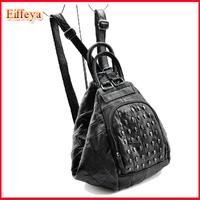 Elegant Designer Bags Fashion New 2014 School Back Packs Women Patchwork Genuine Leather Travel Bags