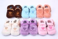 Newest Cotton Lovely Baby Shoes Toddler Unisex Soft Sole Skid-proof Kids girl infant Shoe First Walkers,prewalker 0-12 Months