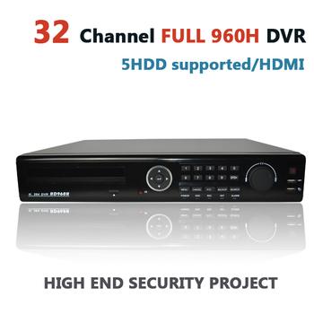 Видеорегистратор 32 канала полный 32ch 960 н и D1 H.264 цифровые сети самостоятельных ...