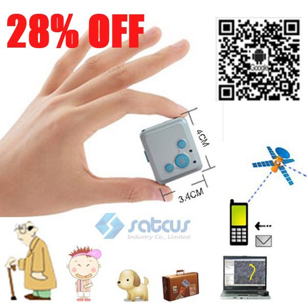 28% OFF Super mini GPS Trackers & SOS communicator For Kids Elderly Pet Car Remote Tracking via internet website/SMS/APPs RF16(China (Mainland))