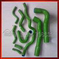 9PCS Customized / Original Logo Silicone Radiator Coolant Heater Hose Kit For BMW E36 325i 316i M3 European 1992-1999 Green