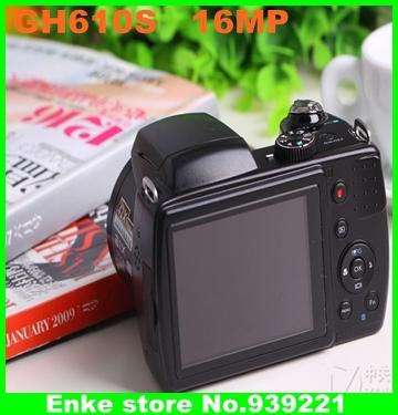 hot SLR digital camera S3900HD GH610S 16.0MP CMOS 21x optical zoom 5x digital zoom Telephoto Digital Camera SLR cheap S3900HD(China (Mainland))