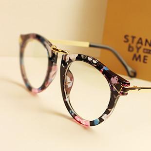 2014 Brand Designer Glasses For Men Women Round Retro Big Frame Glasses Fashion Optical ...