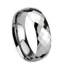 2013 Hot Selling Lovely jewelry High Fashion Wholesale Tungsten Carbide Electroplate Ring TRP-110 Free Shipping