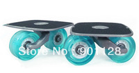S202 New Drift Board Freeline Skates Semitransparent Wheel With Flashing Skateboarding Vigor Blue Fashional Drop Shipping