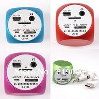 1pc New Stylish 6 Colors Hotsale 3W Speakers for Phone Laptop PC MP3 Portable 85HZ-20KHZ Creative Stereo Mini Speaker 750459