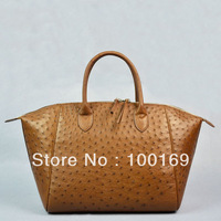Ostrich bags,Genuine ostrich leather  tote,exotic handbags,Ostrich handbag