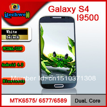 5.0 inch Galaxy S4 phone MTk6589 Quad core Android 4.2 GSM WCDMA 3G 8MP camera Ultra Slim smart phone(China (Mainland))