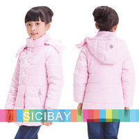 2014 New arrival Super Warm Design Kids Down & Parkas Children Down Outerwear Girls Winter Coat,Free Shipping K3996