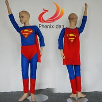 Children Batman Spiderman Superman Costumes For Kids Superhero Suits Cosplay Costumes For Boys