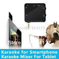 Free shipping Mini Portable  Karaoke Player for Car music Smart Phone/Tablet pc /MP4/MP3 Black color