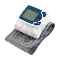1pcs Portable Home Digital Wrist Blood Pressure Monitor gauge tester heart beat meter  Free Shipping