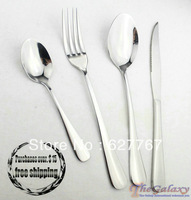 stainless steel   cutlery   Steak knife   Dinner fork       Kit total of four combinations   tableware . dinnerware set