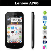 New Arrival 4.5 inch Lenovo A760 Qualcomm MSM8225Q Quad Core Smartphone Android 4.1 IPS Screen 5.0MP Camera Dual SIM WiFi WCDMA