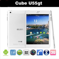 7.9 inch Cube U55GT Talk79 Mini Pad MTK8389 Quad Core 1.2GHz Android 4.2 Bluetooth GPS FM GSM WCDMA 3G