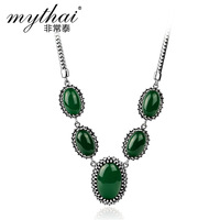 Natural agate necklace 925 silver necklace female short design jewelry   new 2013 girls accessories jewelry sets