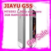 "In Stock Ultra Slim JIAYU G5S MTK6592 Octa Core 3G Smart Phone 13MP Camera 4.5"" OGS Gorilla Glass Screen 2G RAM 16G ROM"