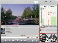 Slide the lens half logger: DA-JA300-end 1080P video recording, GPS tachograph parking monitor, HD tachograph